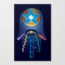 The Elemental Hamsa Canvas Print