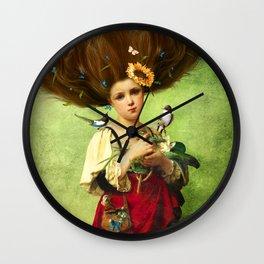 Warm Embrace Wall Clock