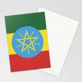 Ethiopia flag emblem Stationery Cards