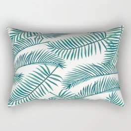 Palm Leaf Pattern Rectangular Pillow