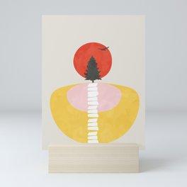Modern shapes 8 Mini Art Print