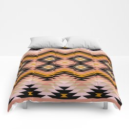 New Mexico in Blush Comforters
