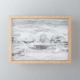 Minty bubble gum Framed Mini Art Print