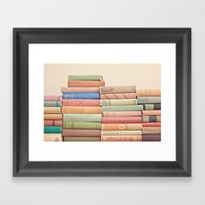 Stacked Gems  Framed Art Print