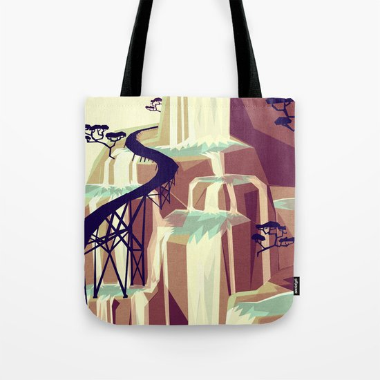 The black bridge Tote Bag