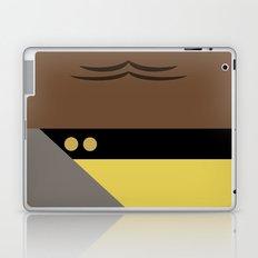 Worf - Minimalist Star Trek TNG The Next Generation - Enterprise 1701 D - startrek - Trektangles Laptop & iPad Skin