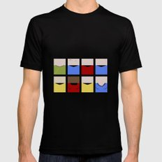 Enterprise 1701 - Minimalist Star Trek TOS The Original Series - Trektangle startrek - Trektangles MEDIUM Black Mens Fitted Tee