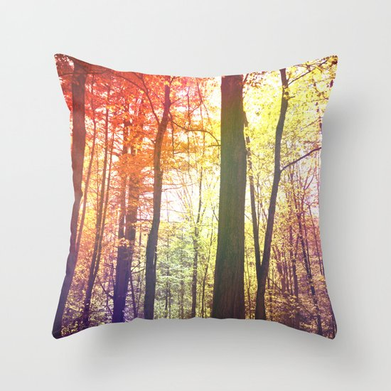Fortress of Friends Throw Pillow