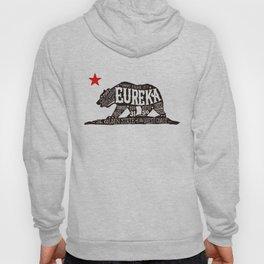 Eureka Bear — CA flag Hoody