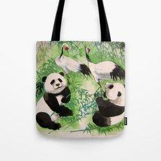 bamboo orchestra Tote Bag