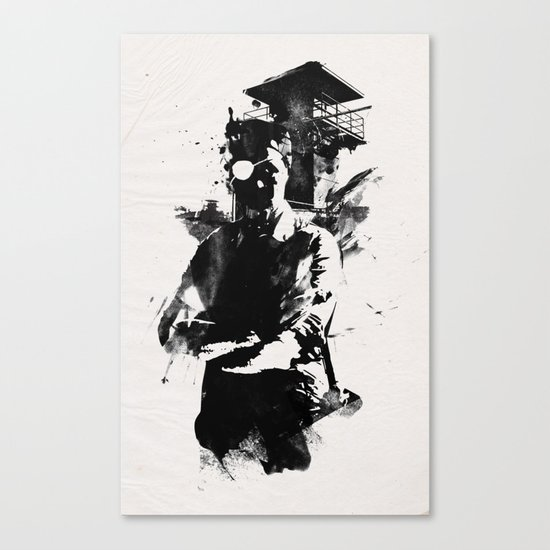 Once I was the govenor Canvas Print