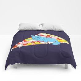 Pizza Dog Comforters
