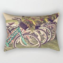 Flower Baskets Rectangular Pillow