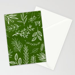 Emerald Forest Stationery Cards