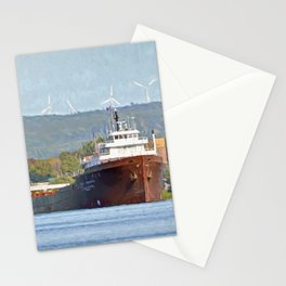 Lee Tregurtha Freighter Stationery Cards