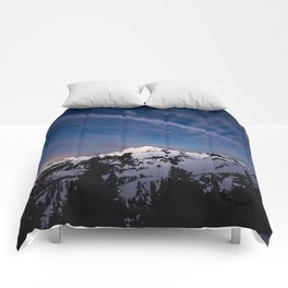 Mount Baker - Nature Photography Comforters