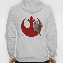 Droid Eek! (red) - BB8 and AT-AT Standoff Hoody