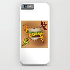 Burger Tattoo iPhone 6s Slim Case
