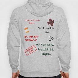 I have a chronic illness Hoody