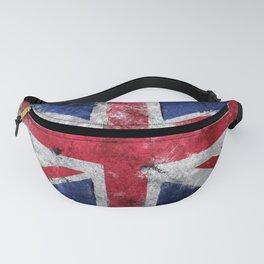 England flag Grunge Fanny Pack
