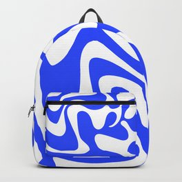 Swirly Whirly: Abstract Pop Art Painting by Bruce Gray Backpack