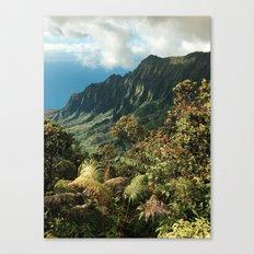 Puu O Kila Canvas Print