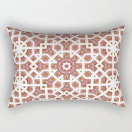 Geometrical Star Pattern Rectangular Pillow