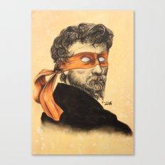 Mikey TMNT Canvas Print