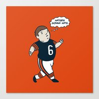 Cutler: Haters Gonna Hate Canvas Print