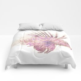 Lets draw a Lionfish Comforters