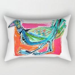 Bird on the Run Rectangular Pillow