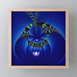Secret of the night Framed Mini Art Print