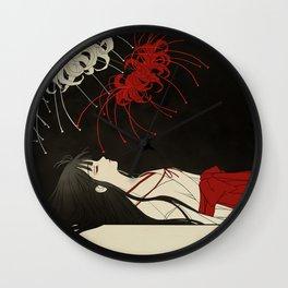 untitled death Wall Clock