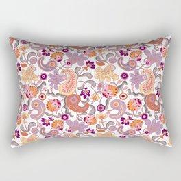 Pastel Paisleys Rectangular Pillow