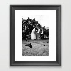 Paris beaubourg Framed Art Print