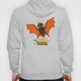 Bat granny book lover Hoody