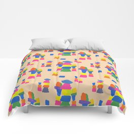Rock Stacks Comforters