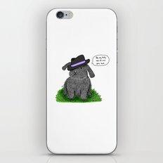 Mafia Rabbit iPhone & iPod Skin