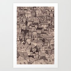Prague II Art Print