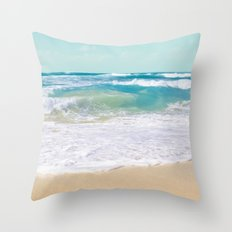 The Ocean Throw Pillow