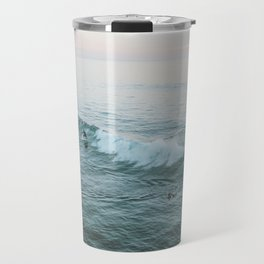 Let's Surf V Travel Mug