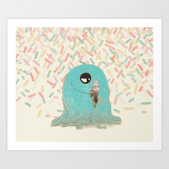 Sprinkles On Top Art Print