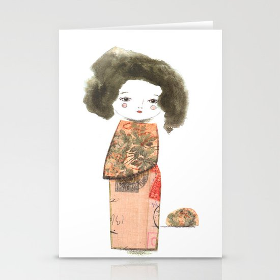 Oriental II Stationery Cards