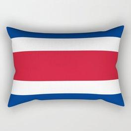 Flag of Costa rica -Costa rican, tico,San José ,Puerto Limón ,Alajuela, heredia. Rectangular Pillow