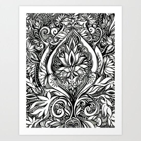 ALLURE Art Print