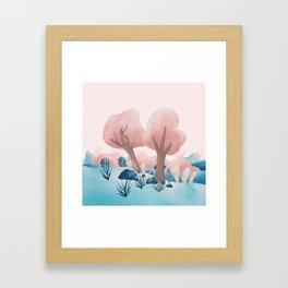 Winter landscapes 1 Framed Art Print