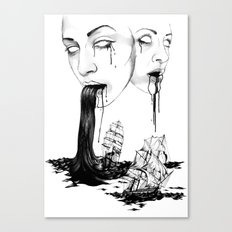 They : Water Canvas Print