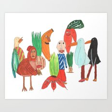 Todos. Art Print