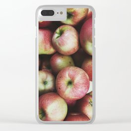 Apples Clear iPhone Case