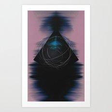 Energy Influx Art Print